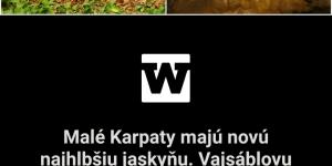 Webnoviny.sk: Malé Karpaty majú novú najhlbšiu jaskyňu. Vajsáblovu priepasť kedysi považovali len za taj omnú dieru v zemi (foto) – NášVidiek.sk