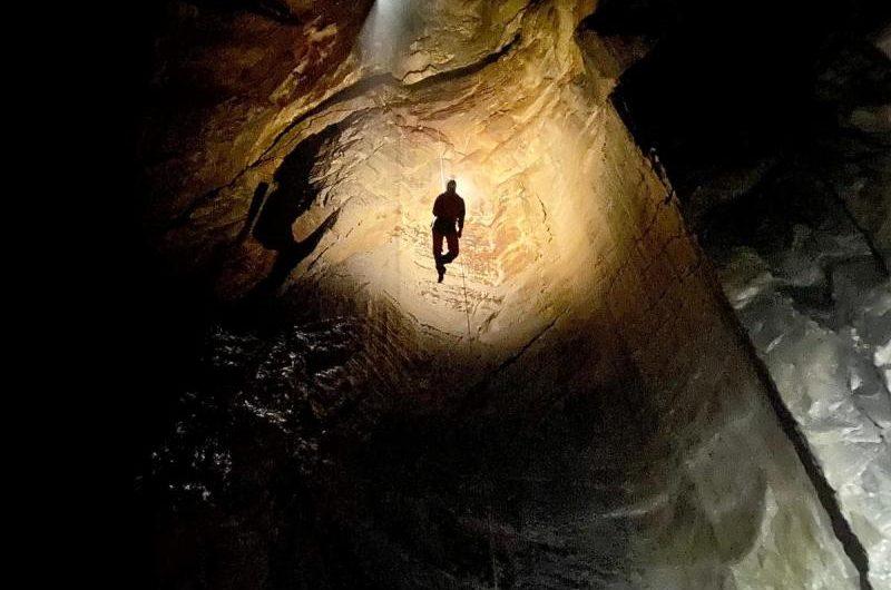 Jaskinia Marmurowa- wyjscie kursowe