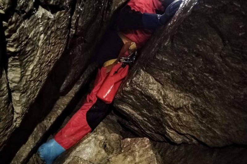 Jaskinia Marmurowa- Stare Dno. Wyjście kursowe