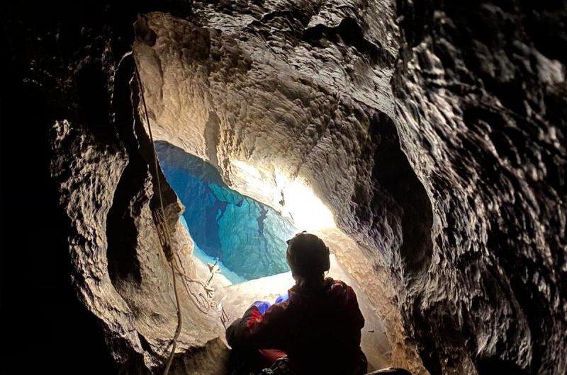 Jaskinia Miętusia- Wyjście Kursowe