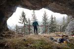 Oprava vchodu do jaskyne Starý hrad