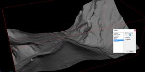 Therion: povrch DMR5 z portálu ZBGIS