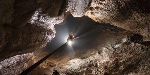 výstava fotografií jaskyniarky Ágnes Berentés v maďarskom Tihany